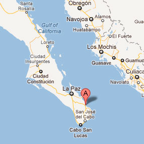 Los Barriles is a Kitesurfing Location near Los Cabos Kitesurf