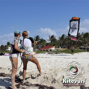 kitesurfing lessons classes mexico